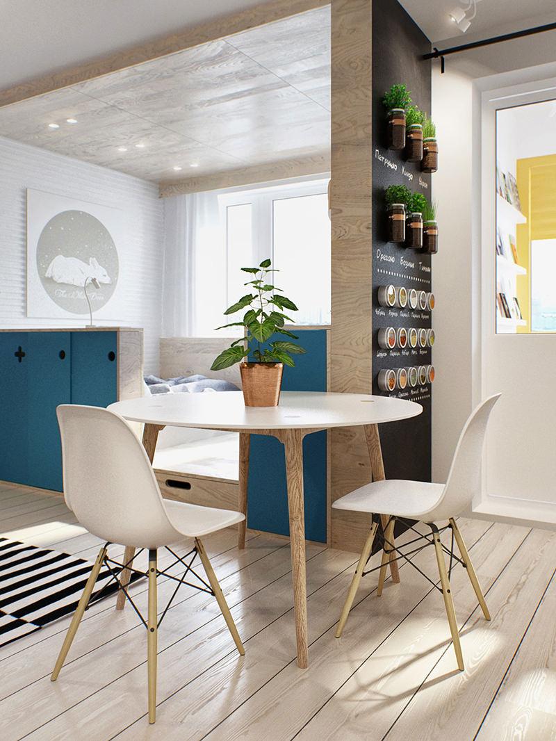 Cozinha Moderna Pequena Apartamento Oppenau Info