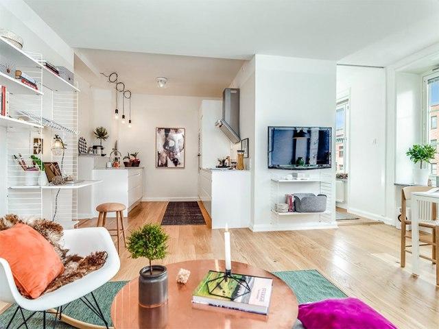 2-sala-cozinha-apartamento-pequeno-toque-feminino
